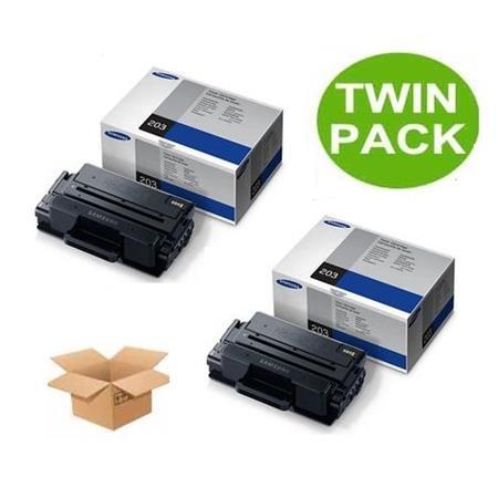 TWINPACK: Samsung MLT-D203U Original Black Ultra High Capacity Toner Cartridge