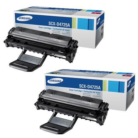 TWINPACK: Samsung SCX-D4725A Black Original Laser Toner Cartridge